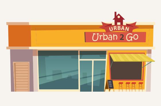 Enjoy Fast Food at URBAN 2 GO